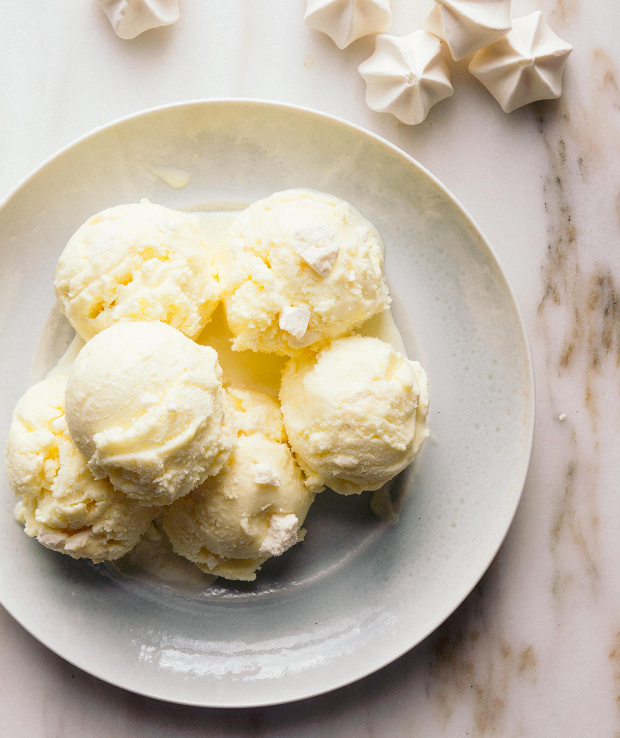 Lemon Meringue Pie Ice Cream