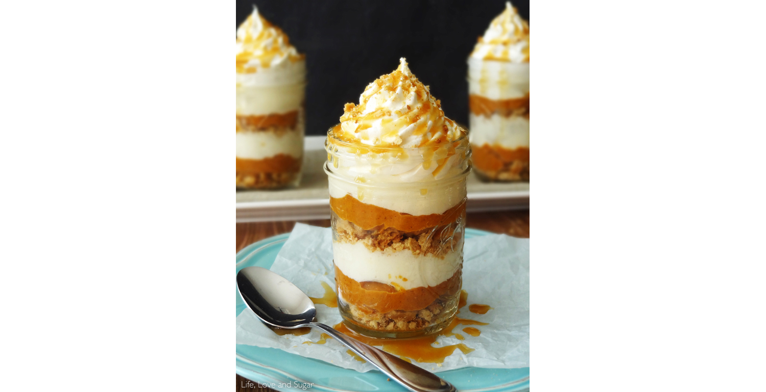 No-Bake Pumpkin Pie in a Jar
