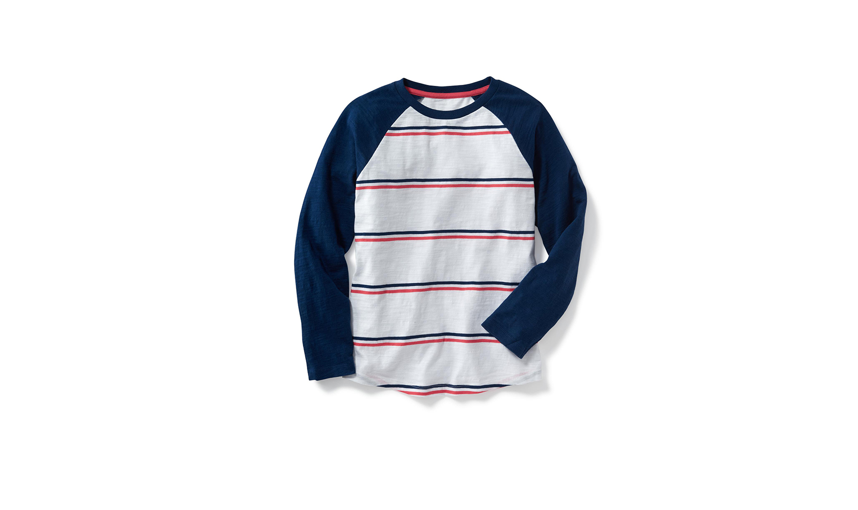 Old Navy Boys' raglan-sleeve baseball tee