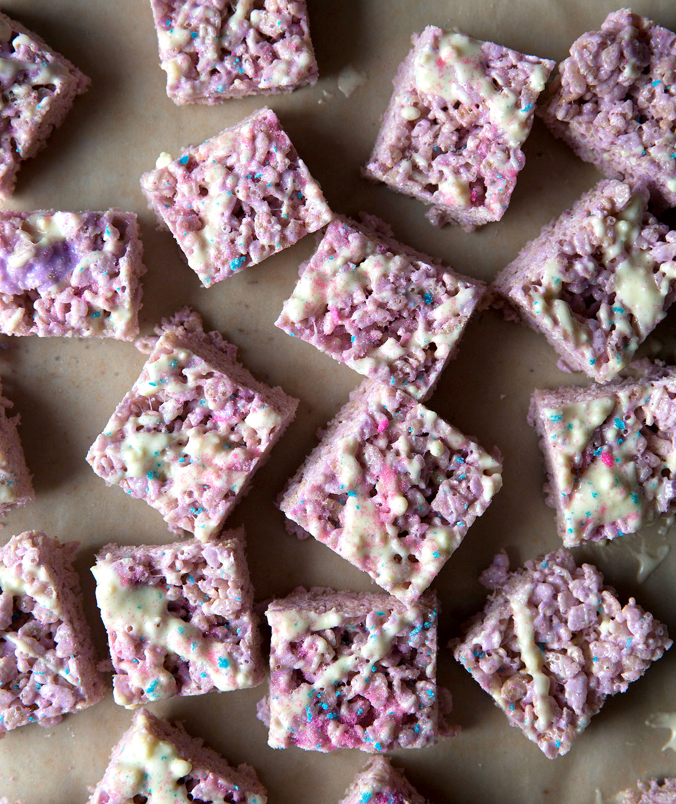 Brown Butter Peeps Rice Krispie Treats