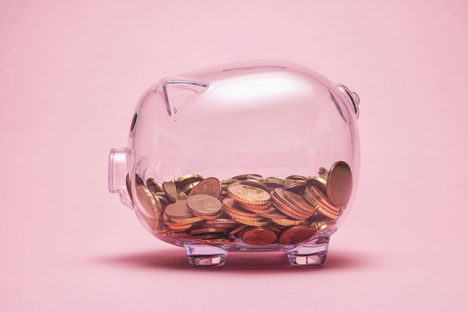 Tiny Personal Finance Tips - Easy Ways to Save Money with a piggy bank