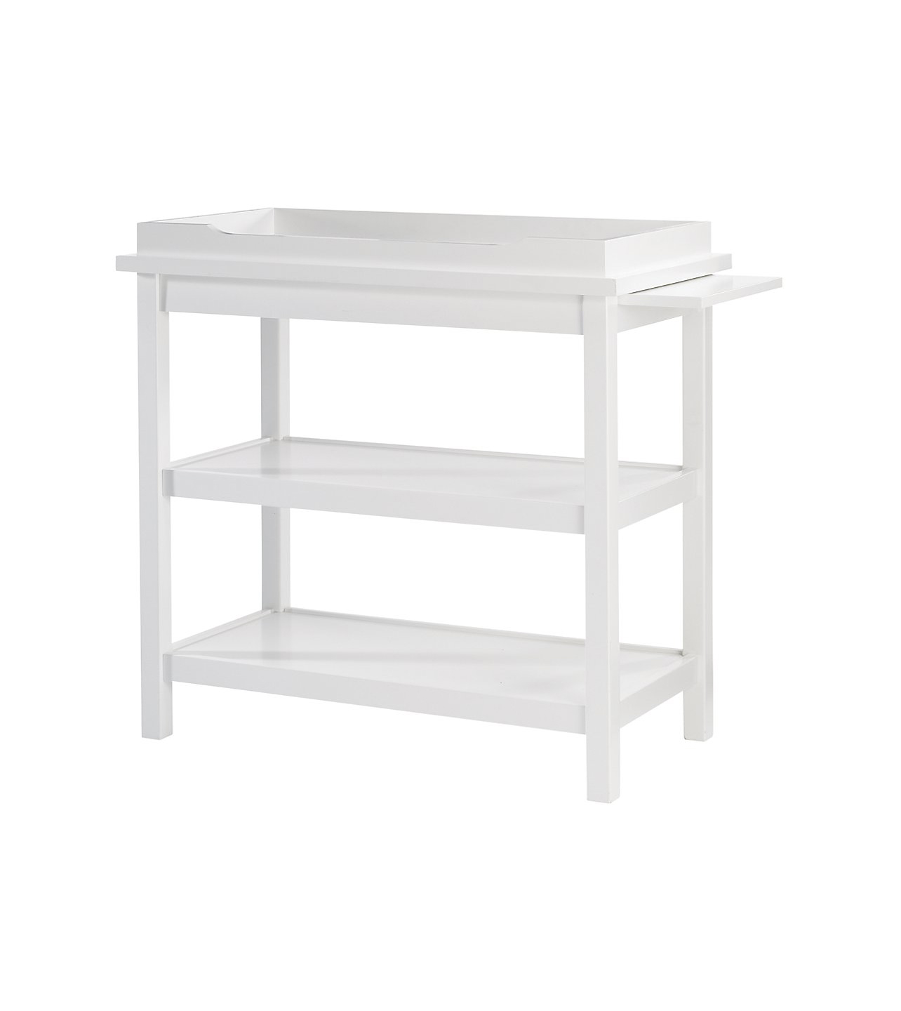 white-changing-table