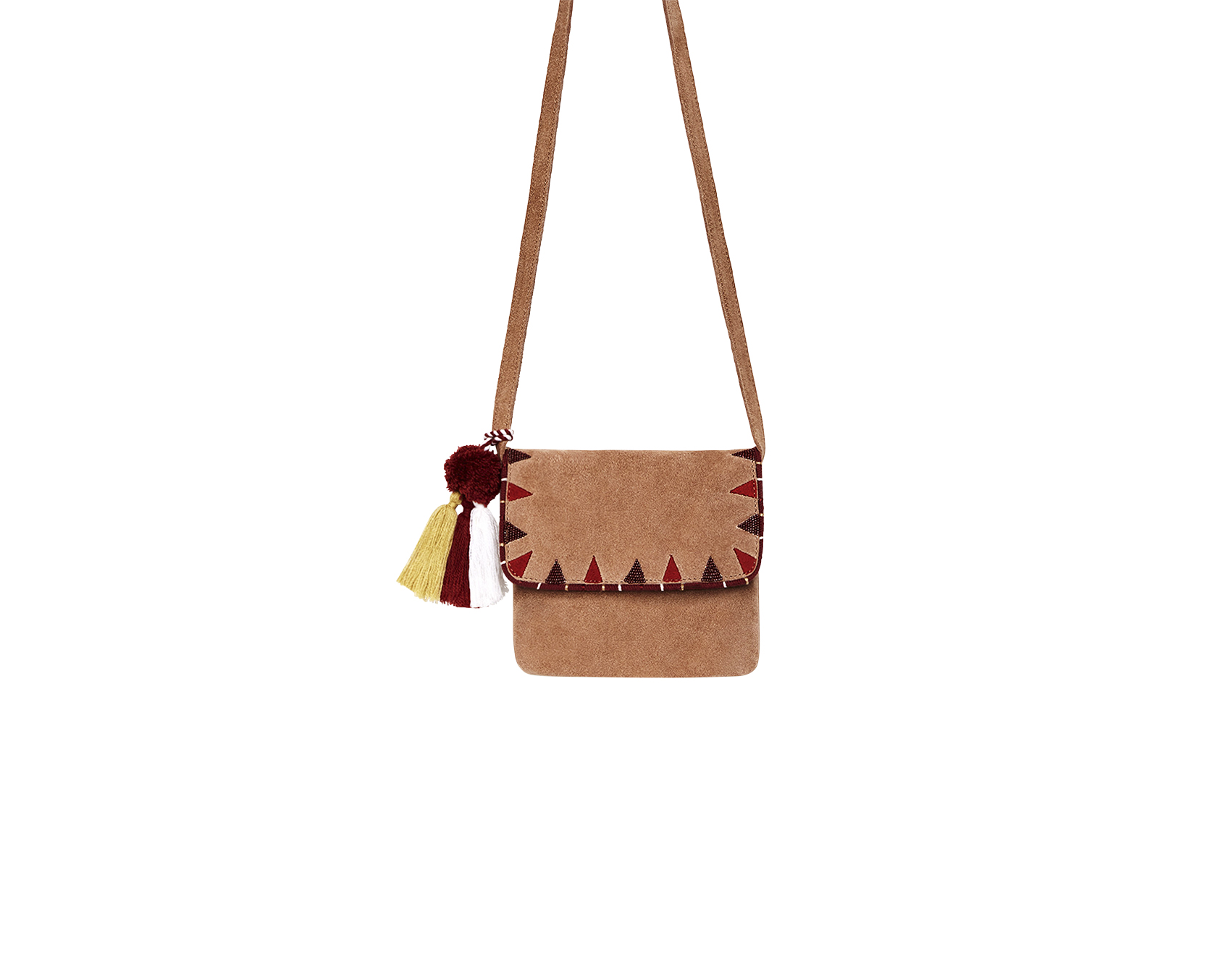 Zara Girl's leather crossbody bag