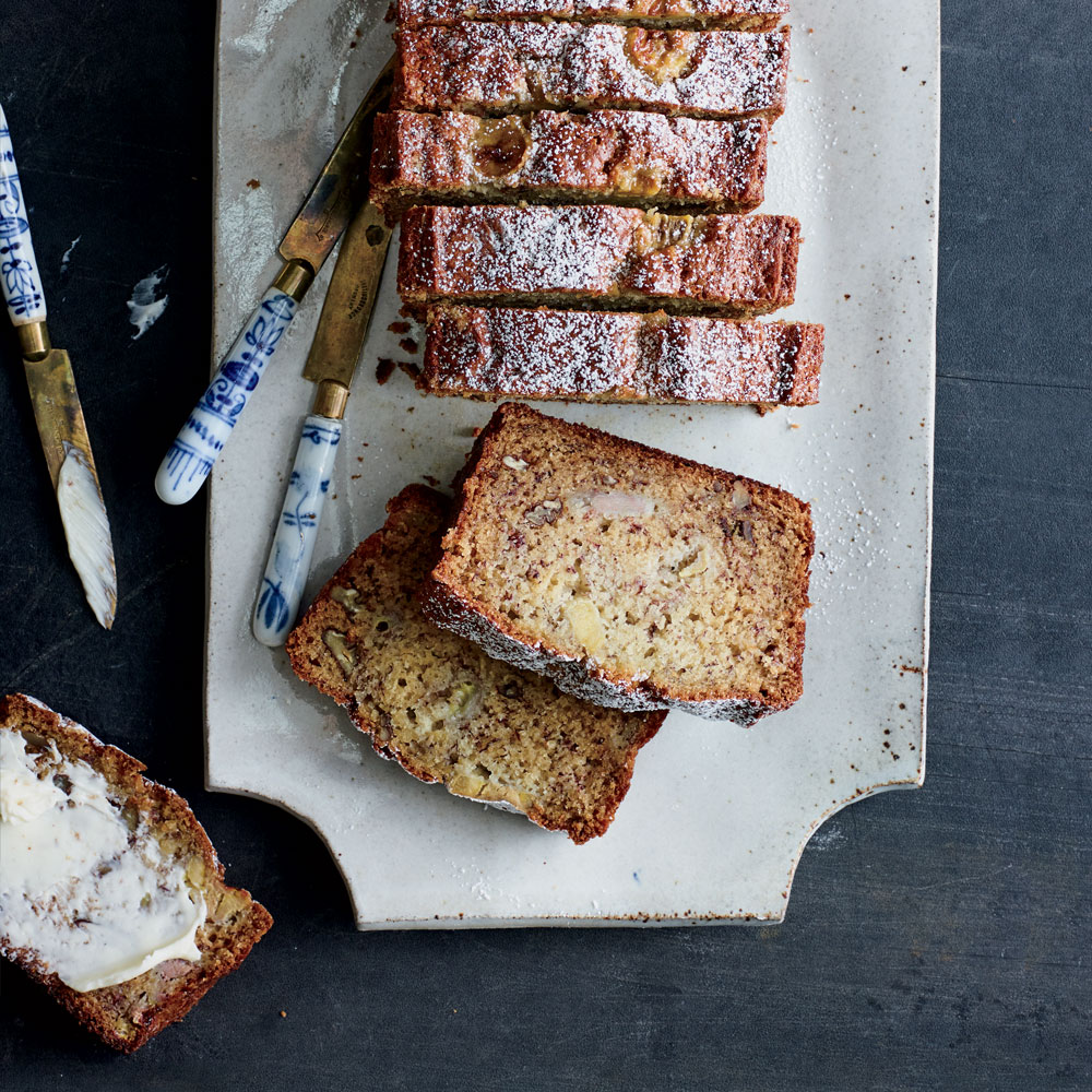 Smashed-Banana Bread