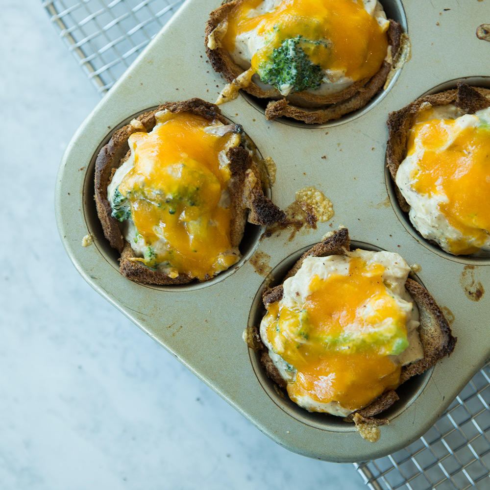 Impossibly Easy Chicken Casserole Cups 1602w-chicken-cheese-toast-cups