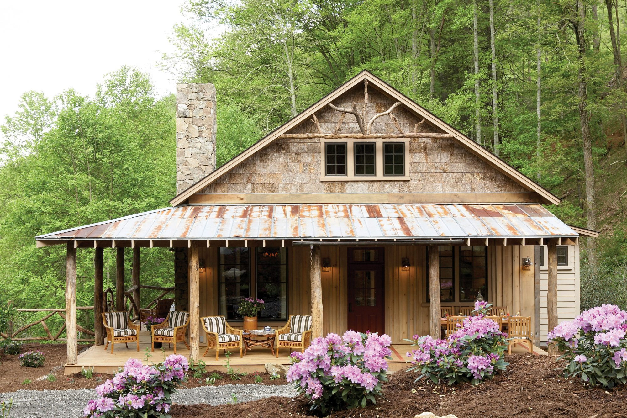 17 house plans with porches southern living for Backyard cottage plans