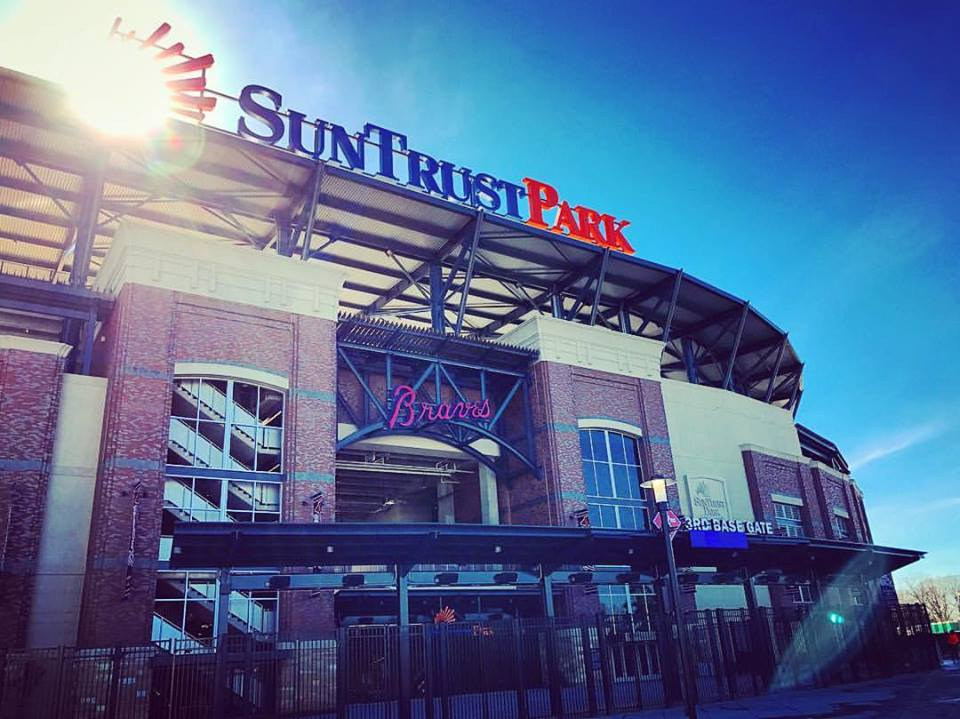 SunTrust Park in Atlanta, GA