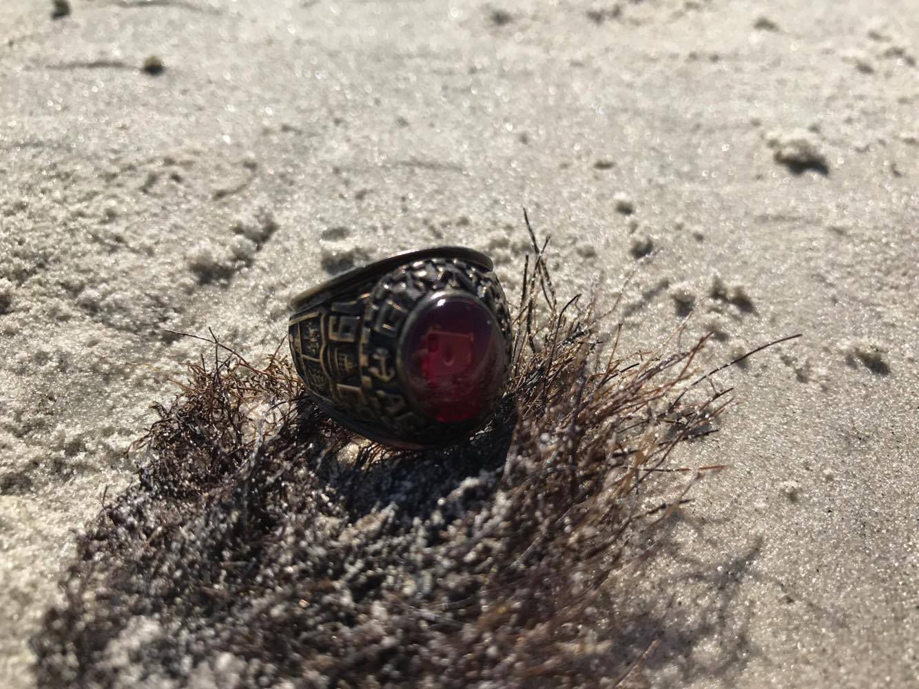 Lost Class Ring Washes Up on Jekyll Island Beach 45 Years Later