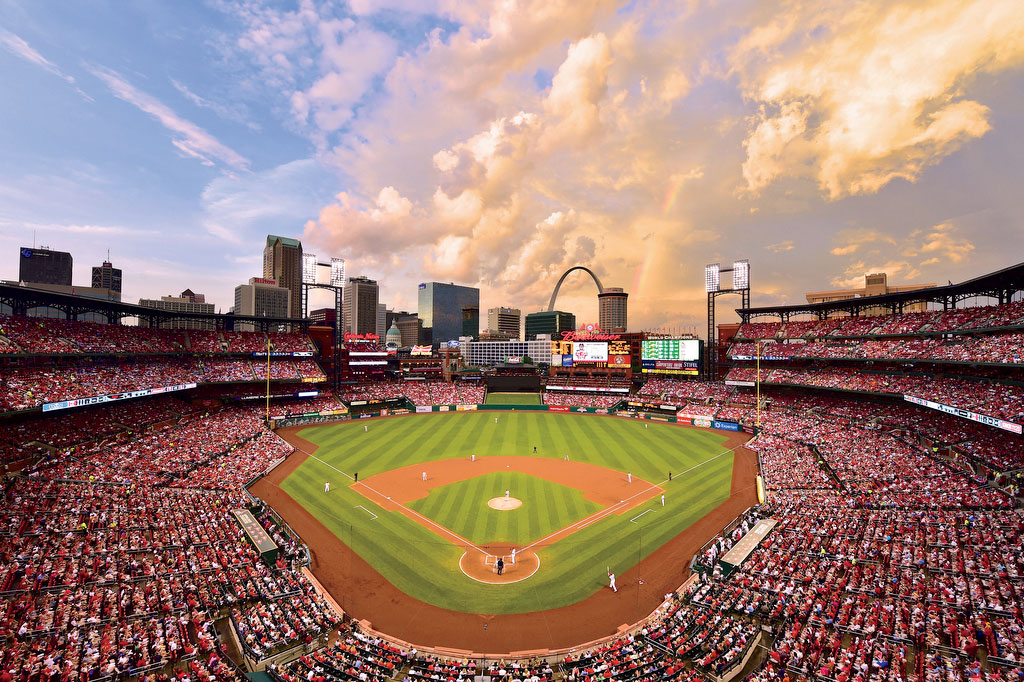 Busch Stadium in St. Louis, MO