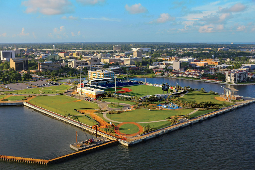 Blue Wahoos Stadium in Pensacola, FL
