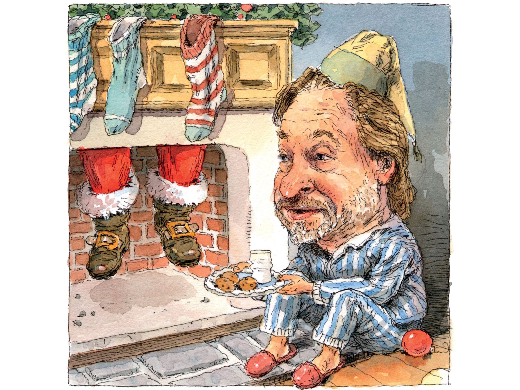 Rick Bragg Waiting for Santa
