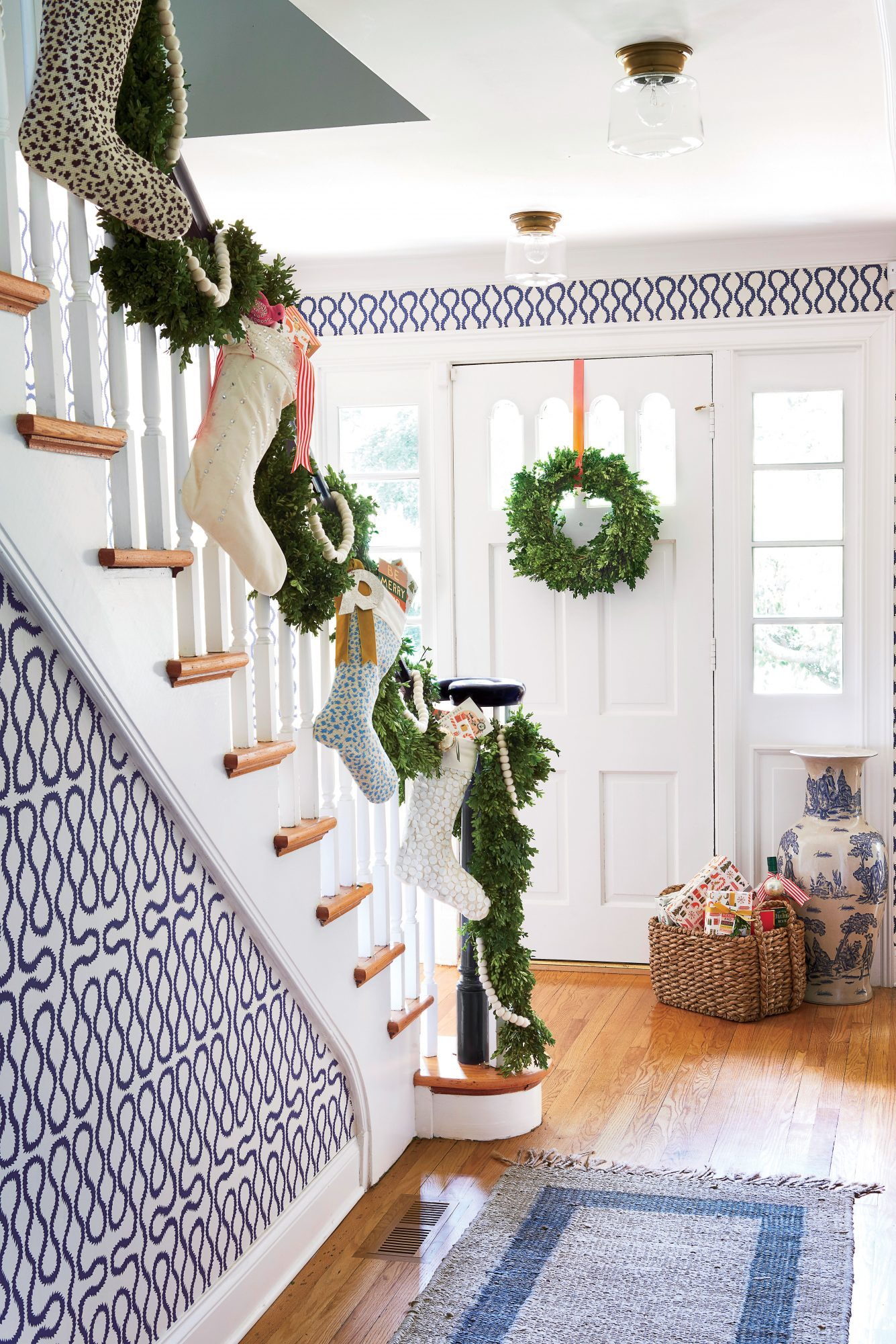 Stockings on the Stairs