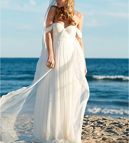 Empire Beach Wedding Dress