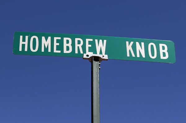 Homebrew Knob: Ragland, Alabama