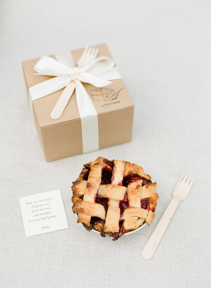 Pie Party Favor