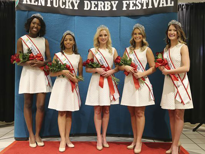 2017 Derby Festival Princesses