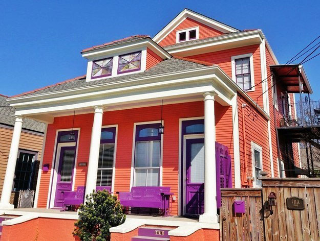 Fuschia House Accents New Orleans