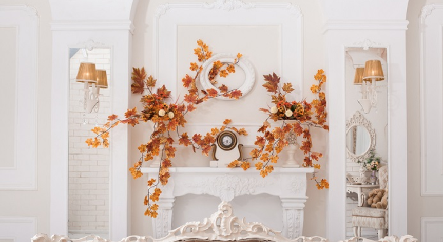 Harvest Color Mantel