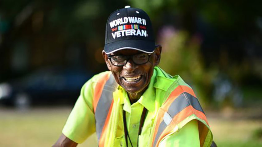 Luther Walker Dallas Crossing Guard