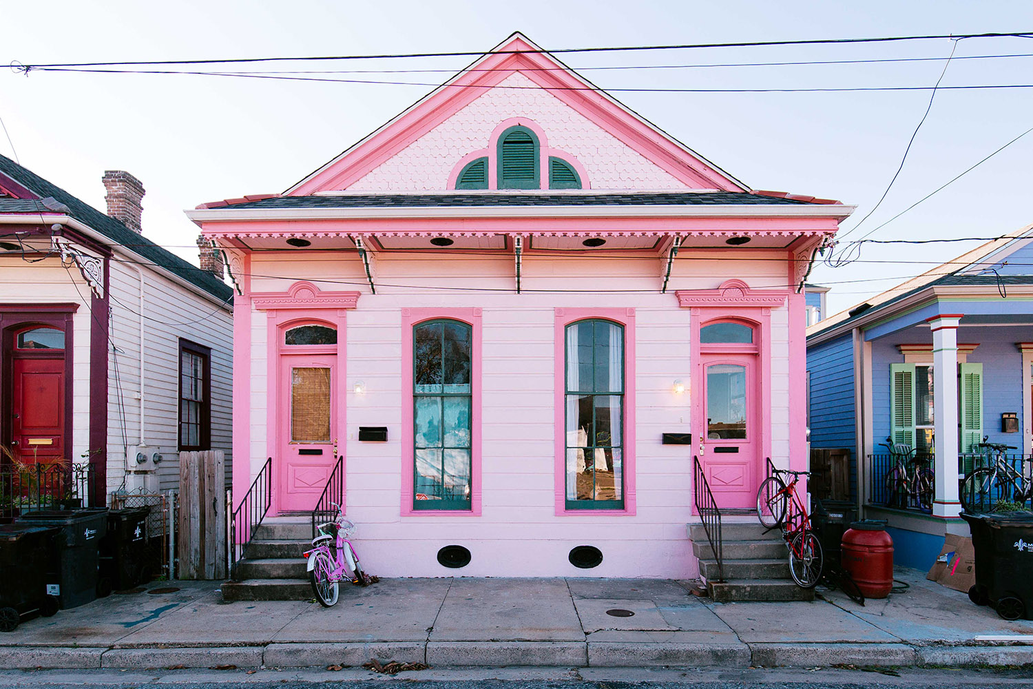 pink house in new orleans - Houses Pic