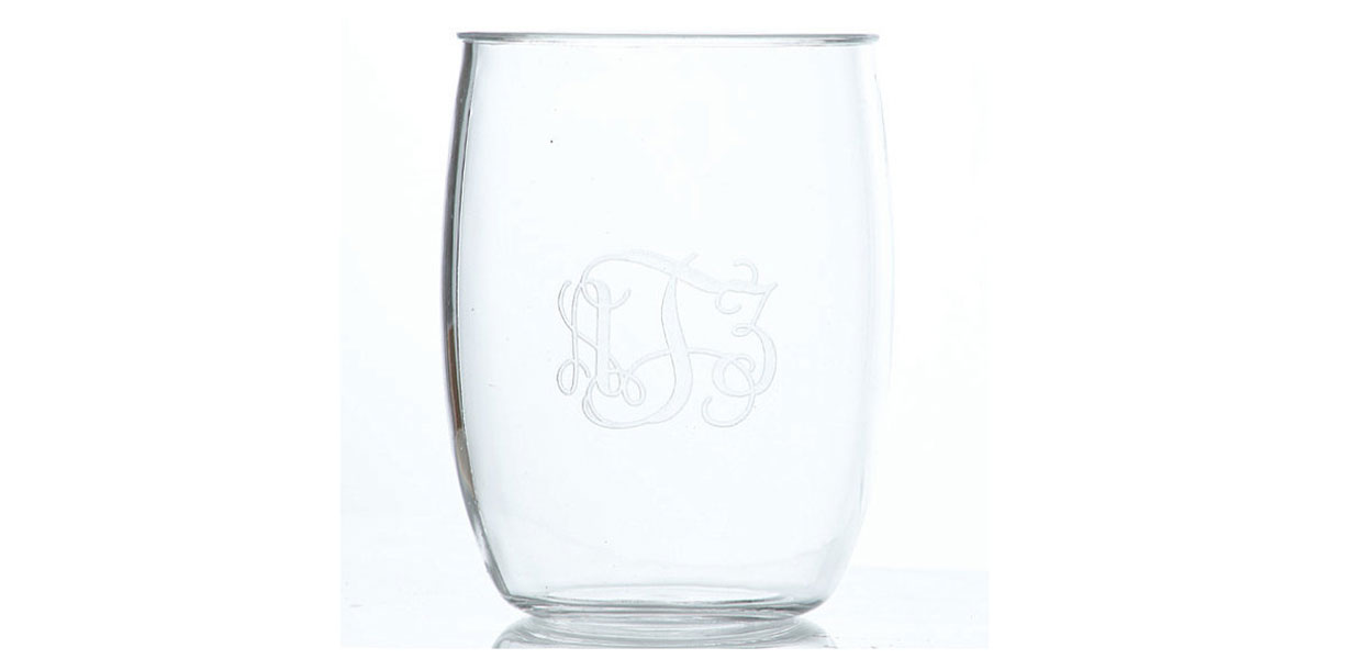 monogrammed-hostess-gift-acrylic-stemless-wine-glasses