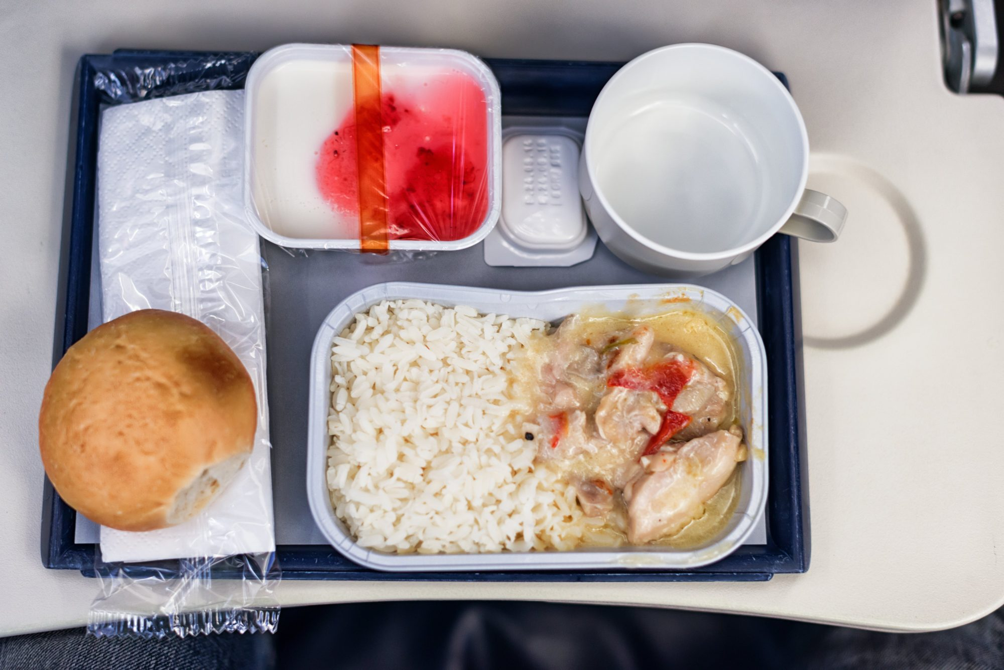 catering food on board