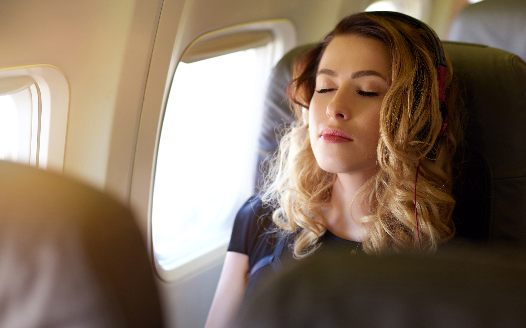Where to Find the Quietest Seats on an Airplane