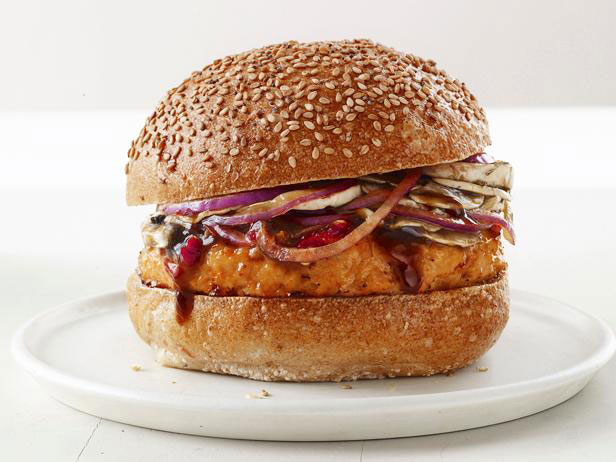 Asian-Style Chicken Burgers