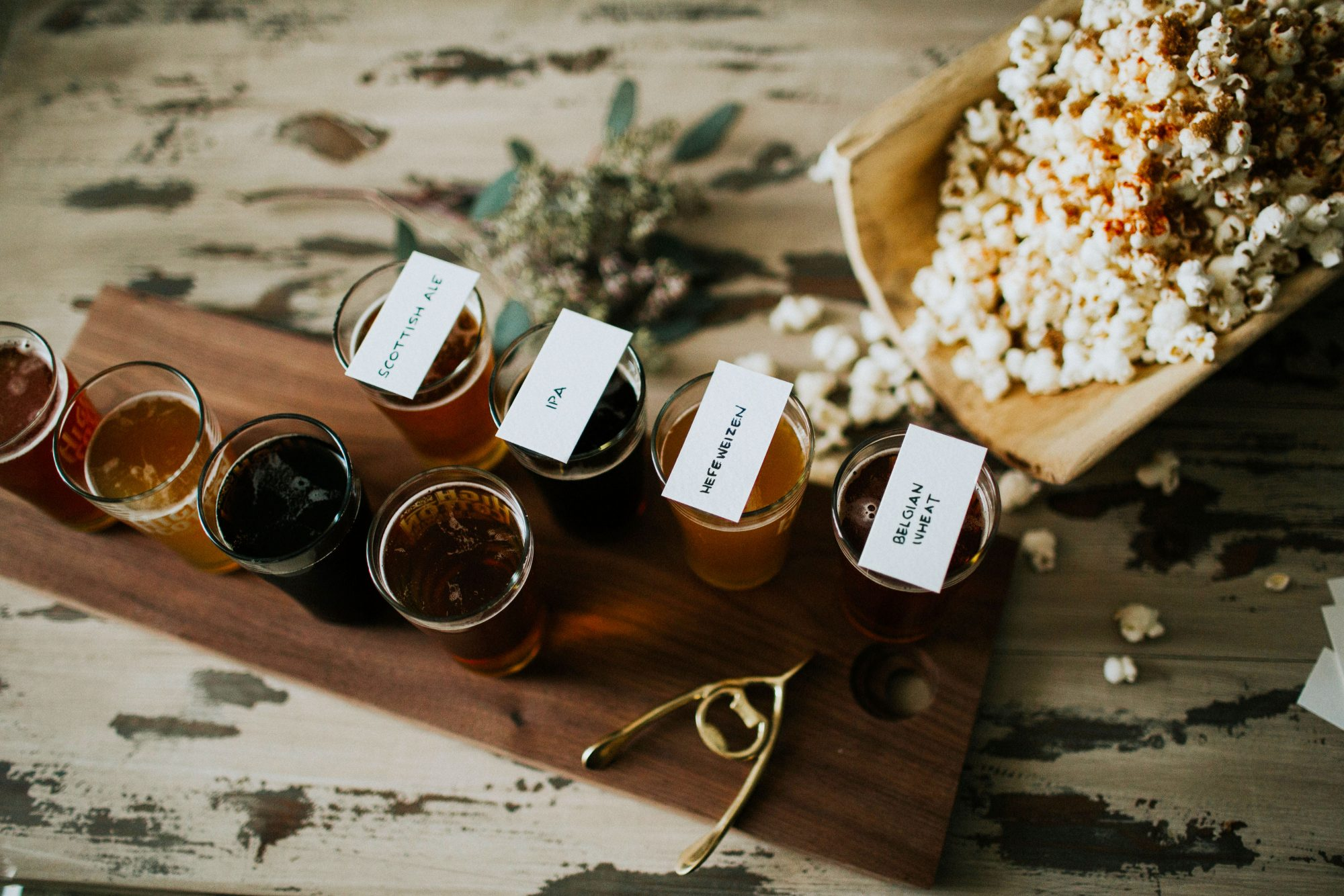 Spiced Popcorn and Beer Pairings for Game Day