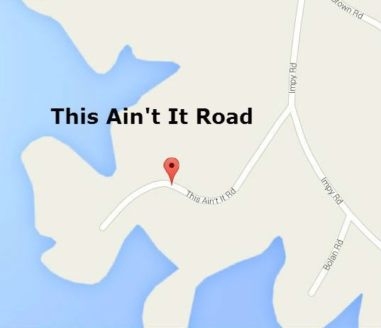 This Ain't It Road: Dadeville, Alabama