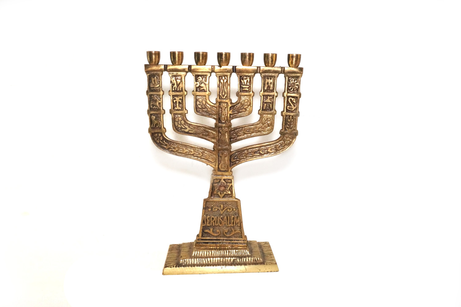 Beautiful Bronze Menorah