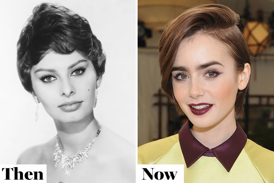 Then and Now: Full Brows