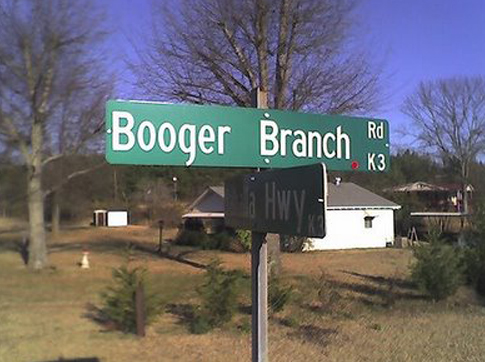 Booger Branch Road