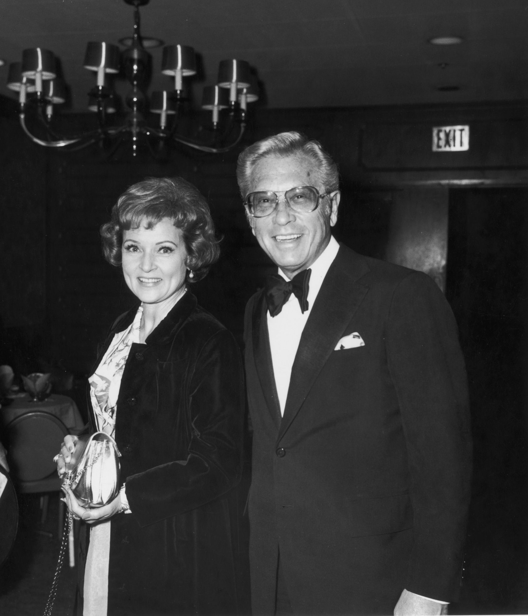 Betty White and 3rd Husband Allen Ludden