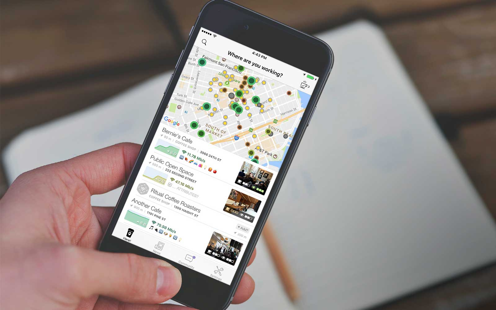 Cafe Wifi App Lets you Find Free Wifi Around the World
