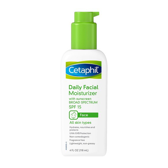 RX1707_ All-Time Best Skincare Secrets Cetaphil Daily Facial Moisturizer with Broad Spectrum SPF 15