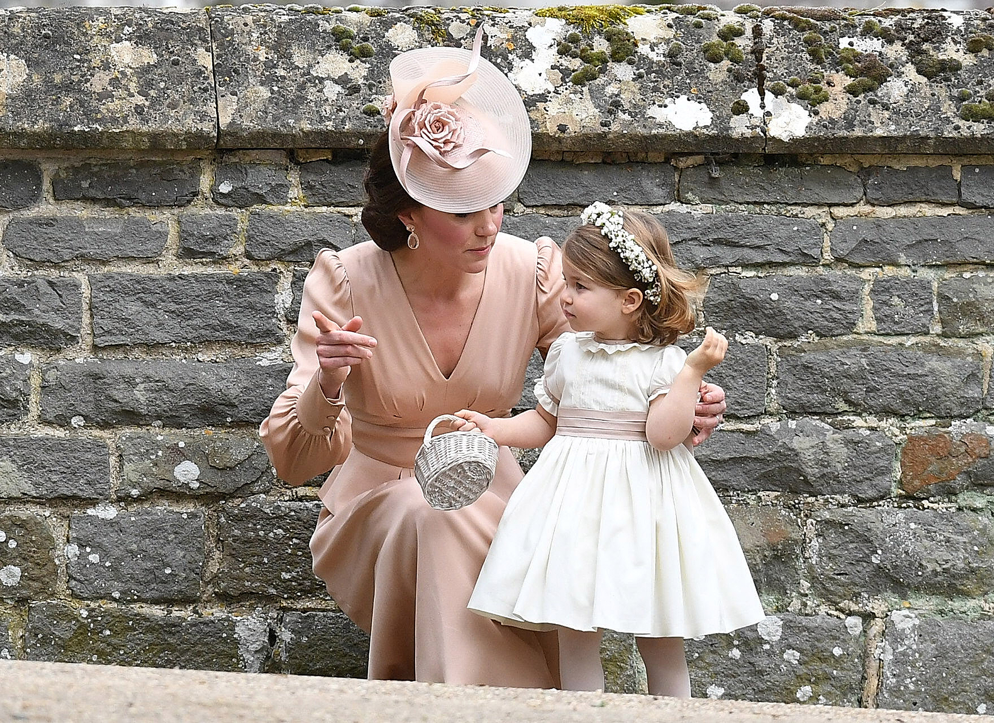Princess Kate with Princess Charlotte