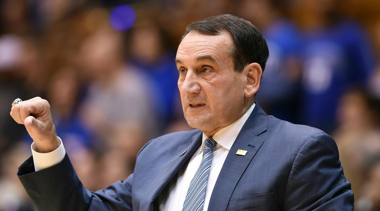Mike Krzyzewski Picks Up 1000th Win at Duke