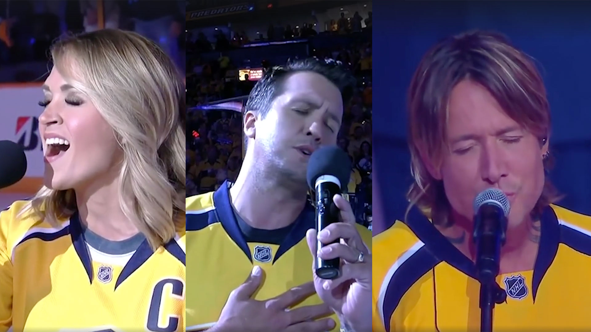 Nashville Predators Anthem Country Compilation