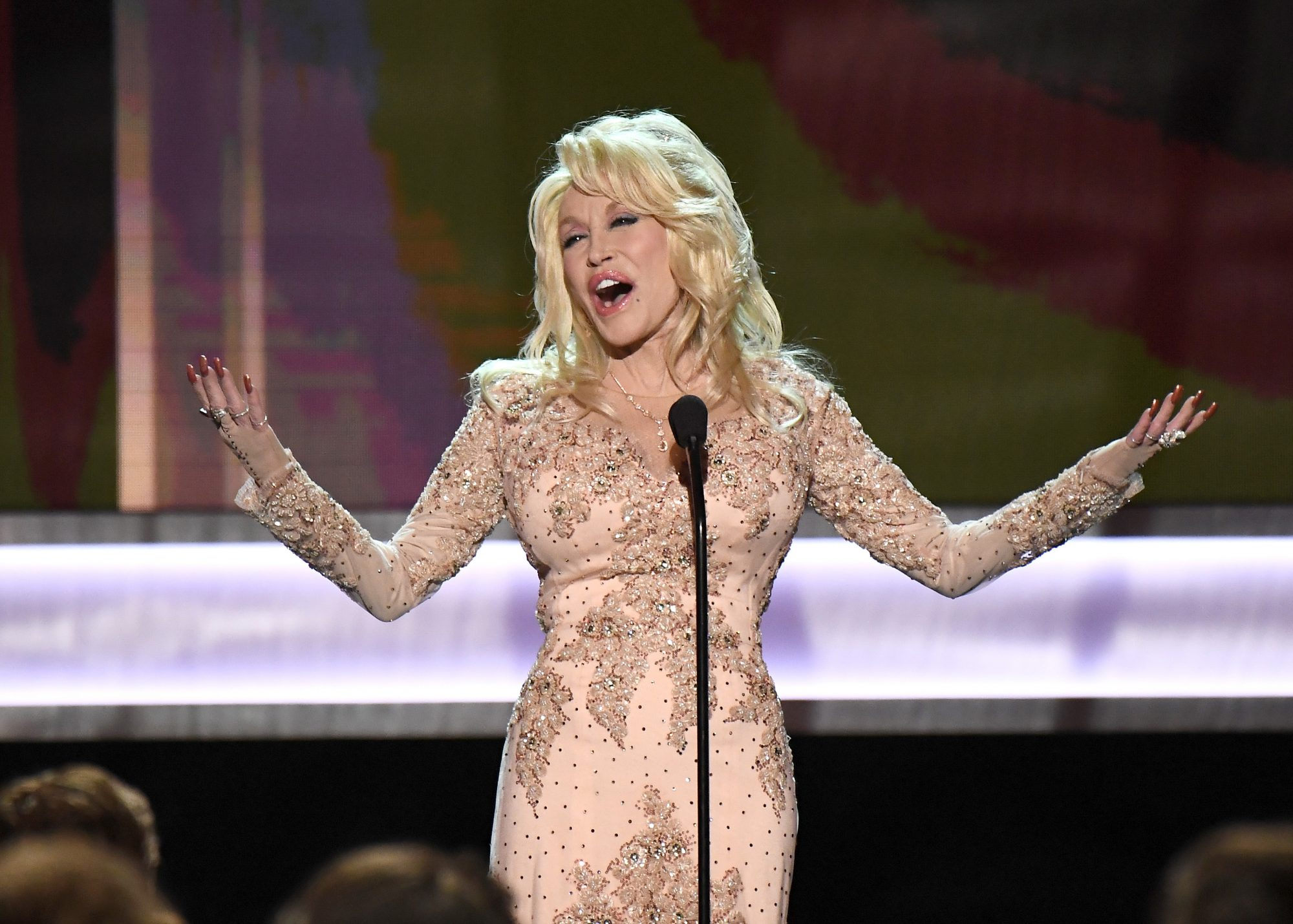Dolly Parton 2017 SAG Awards