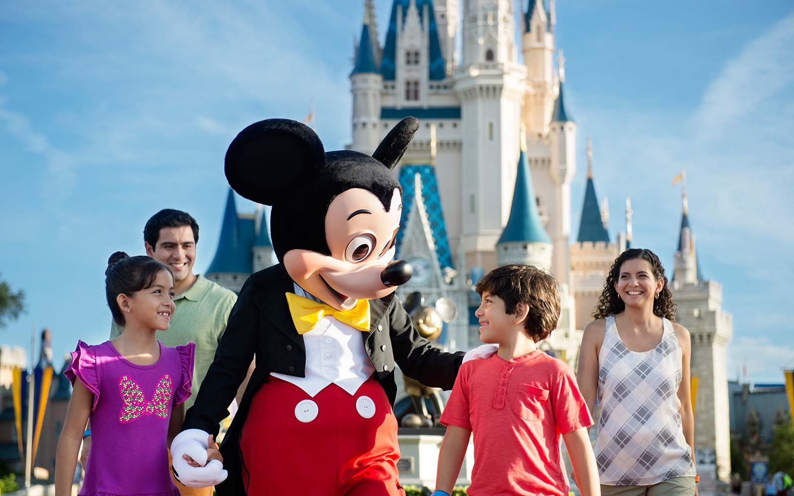 family travel vacation disney world magic kingdom orlando florida