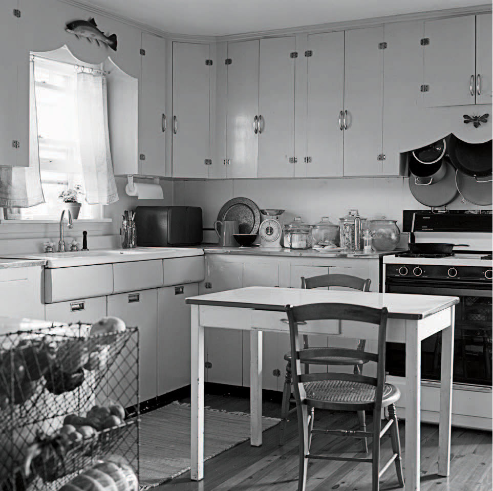 Old Kitchen with Farmhouse Sink