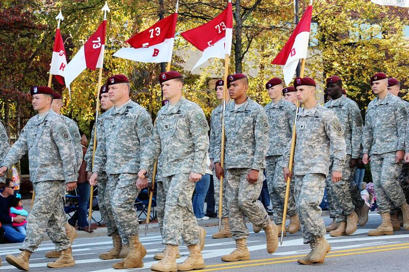 Fayetteville, NC Veteran's Day Parade