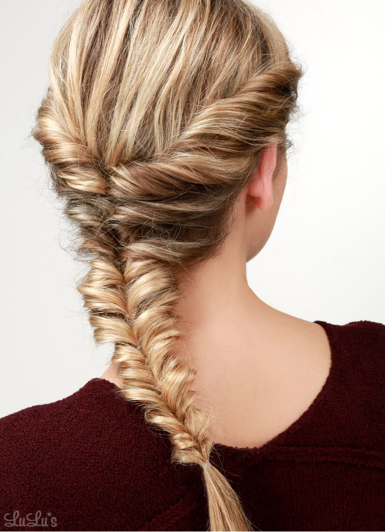 Finally learn how to fishtail