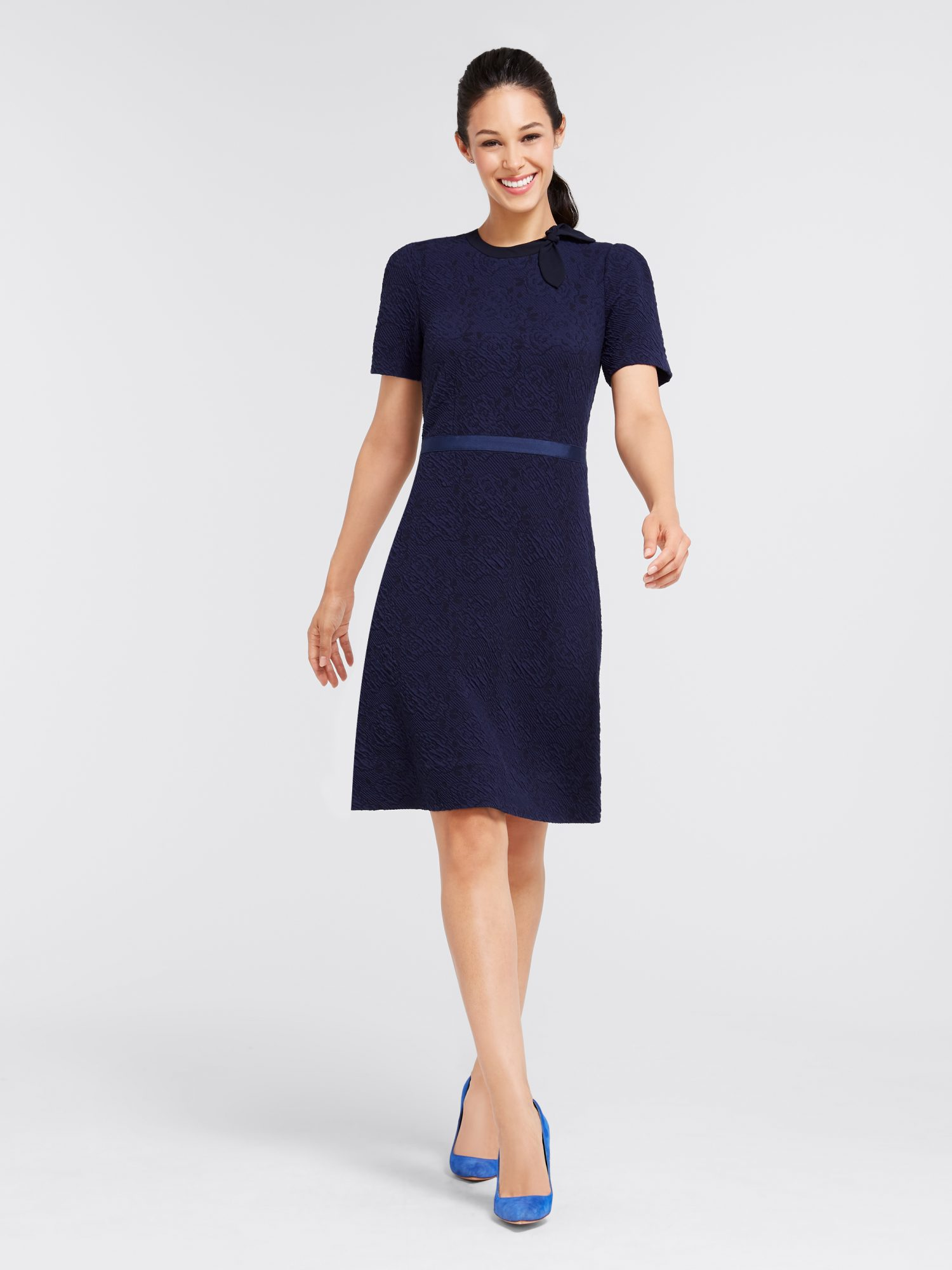 Floral Knit Mary Wills Dress