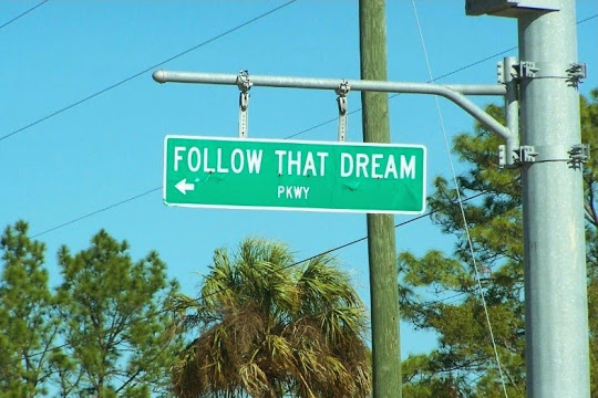 Follow That Dream Parkway: Inglis, Florida