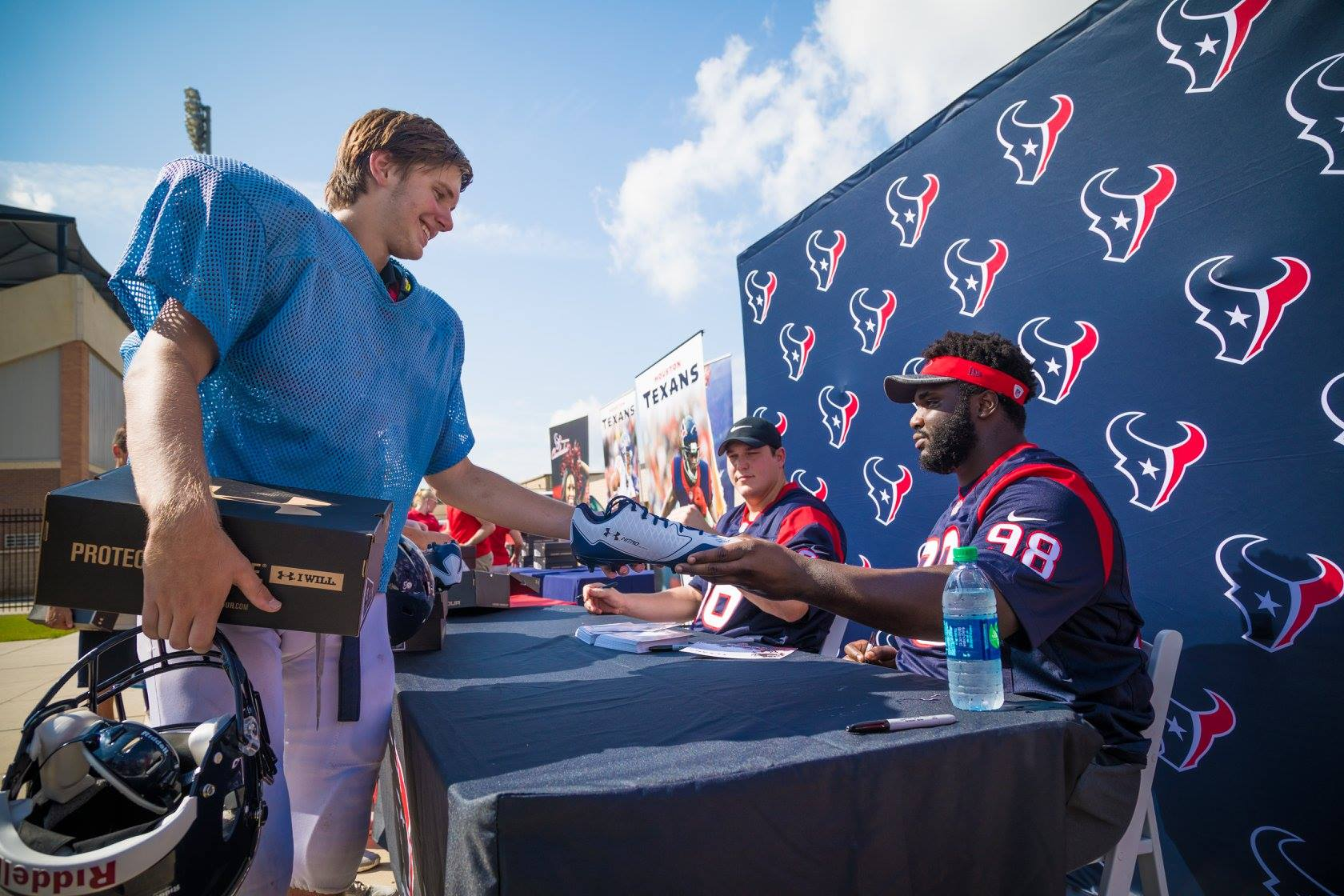 Houston Texans Surprise High School Football Team