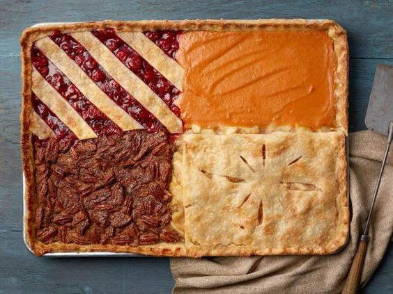 Four-Flavor Slab Pie