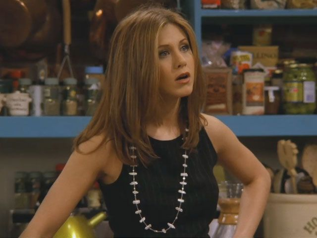 "Jennifer Aniston as Rachel on ""Friends"""