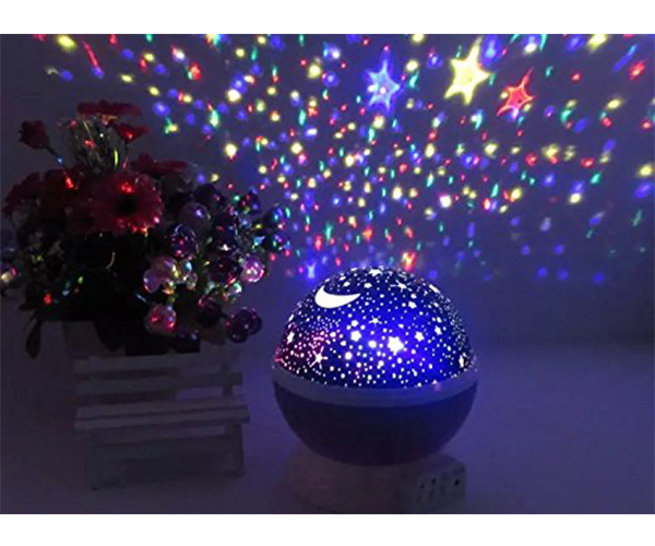 Rotating Galaxy Lamp Amazon Prime Gift
